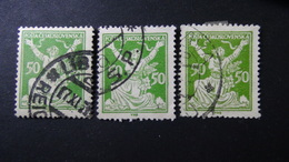Czechoslovakia - 1922 - Mi:CS 175, Sn:CS 87, Yt:CS 168 Used -  VARIETY COLOUR - Look Scan - Tschechoslowakei/CSSR