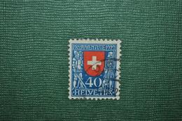 Suisse 1922 Y&T 191 Oblitéré Papier Sale - Oblitérés