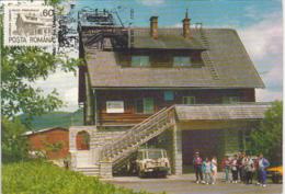 TOURISM, VALEA DRAGANULUI TOURISTICAL COMPLEX, CM, MAXICARD, CARTES MAXIMUM, 1993, ROMANIA - Ferien & Tourismus