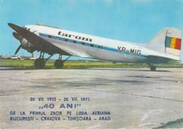 CPA TRANSPORT, AVIATION, AIRPLANES, LISUNOV LI-2 - 1946-....: Moderne