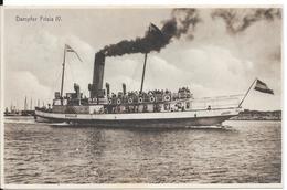 """Dampfer """"Frisia"""" IV. (Voir Commentaires) - Barche"""
