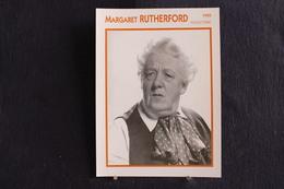 Sp-Actrice,anglaise,1950 - Rutherford, Née En1892 à Londres, Morte En 1972 à Chalfont St. Peter (Angleterre). - Acteurs
