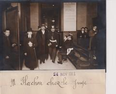 M FLACHON Chez Le Juge  13*9CM Maurice-Louis BRANGER PARÍS (1874-1950) - Fotos