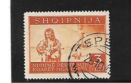 DSP255b / Besetztes ALBANIEN  - Mi.Nr. 21 - Albanien