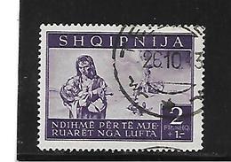 DSP255a / Besetztes ALBANIEN  - Mi.Nr. 20 - Albanien