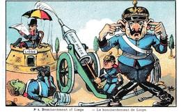 BOMBARDEMENT DE LIEGE ILLUSTRE PAR MULLER  REF 60714 - Humoristiques