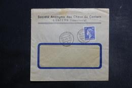 LUXEMBOURG - Enveloppe Commerciale De Contern En 1952 - L 39732 - Luxemburg