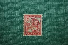 Suisse 1915 Y&T 150 Mauvais état (papier Sale) - Oblitérés