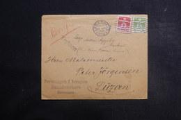 DANEMARK - Enveloppe De Copenhague Pour La Suisse En 1938 - L 39734 - 1913-47 (Christian X)