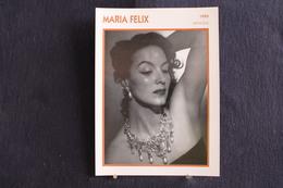 Sp-Actrice, 1950 - María Félix Est Une Actrice Mexicaine, Née En 1914 à Álamos (Mexique),morte En 2002 à Mexico. - Acteurs