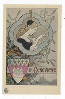 CPA - Prénom - Sainte Geneviève - Voornamen
