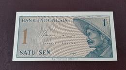 Billet Indonésie NEUF 1 Satu Sen - Année 1964 - Indonesien