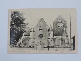 Environs De ROMILLY Sur SEINE - Eglise Fortifiée De La Villeneuve-au-Châtelot  Ref 0565 - Romilly-sur-Seine