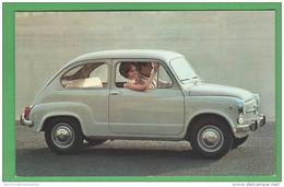 Automobile Cars Fiat 600 D Cp Anni 70 Cars Voitures Vehycles - Turismo