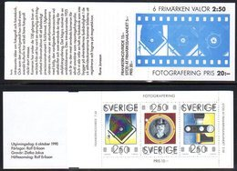 SWEDEN 1990 Sesquicentenary Of Photography Booklet MNH / **.  Michel MH154 - Booklets