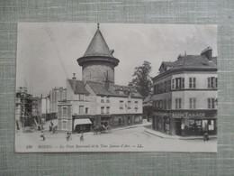 CPA 76 ROUEN PLACE BOUVREUIL ET LA TOUR JEANNE D'ARC - Rouen