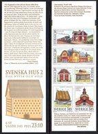 SWEDEN 1996 Traditional Houses II Booklet MNH / **.  Michel MH214 - Markenheftchen