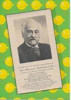 JAN ROMBAUTS-DOKTER-BURGEMEESTER-HERENTALS-  ITEGEM-(HEIST-OP-DEN-BERG) - Esquela