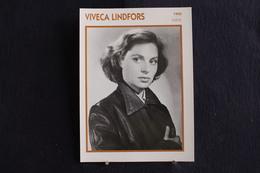 Sp-Actrice,américano-suédoise, 1950 - Viveca Lindfors, Née En 1920 à Uppsala (Suède) Et Morte En 1995 Dans La Même Ville - Acteurs