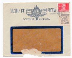 1946 YUGOSLAVIA, SLOVENIA, ŠKOFJA LOKA, SESIR, HAT- MILLINERY MANUFACTURER, TITO, DAMAGE - 1945-1992 Socialist Federal Republic Of Yugoslavia