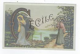 CPA - Prénom - Sainte Cécile - Voornamen
