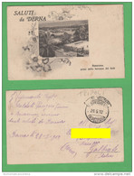Derna Libia Libya Franchigia PM 1912 - Libia