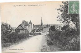 35 CHELUN - L'arrivée Route De Senonnes - Altri Comuni