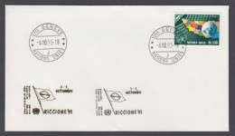 UNO Genf-UN Geneva - Beleg 1993 - MiNr. 79 - Gold-Sonderstempel - Riccione 93 - UNO