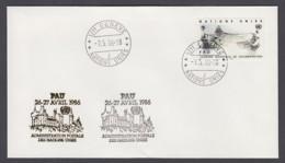 UNO Genf-UN Geneva - Beleg 1986 - MiNr. 120 - Gold-Sonderstempel - Pau - UNO