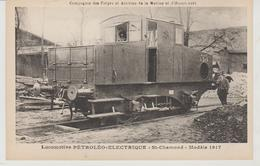 Compagnie Des Forges Et Aciéries D'Homécourt Locomotive Petroléo-Electrique St Chamond Modèle 1917 - Materiaal