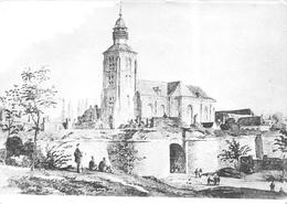 Photo Jules Messiaen - Porte De Lille Avant Démolition 1869 - Tournai