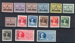 Vaticano 1931 Pacchi Postali ( Sass.1/15) **MNH / VF - Pacchi Postali