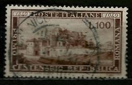 # 1949 Italia Repubblica: Repubblica Romana, Usato - 6. 1946-.. Repubblica
