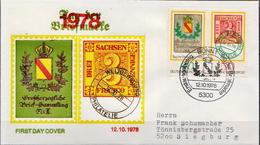 Germany Used FDC From 1978 - Stamps On Stamps