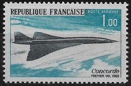 P.A. N°43 Neuf** France 1969 - Poste Aérienne