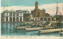 Alger 1922; L'Amirauté Et La Défense Mobile - Voyagé. (LL.) - Alger