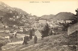 CORSE - UN COIN DE CORTE - Militaires -- Ed. E. Breteau - Corte