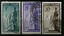 # 1949 Italia Repubblica: E.R.P., Usato - 6. 1946-.. Repubblica