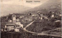 Torino - Borgiallo - Panorama - Vg 1912 - ANNULLO TONDO RIQUADRATO - Italia
