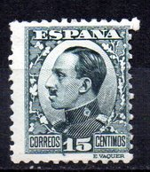 Sello Nº 493  España - 1889-1931 Reino: Alfonso XIII