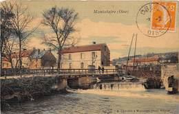 MONTATAIRE - Pont De La Scierie -  (carte Toilée) - Montataire