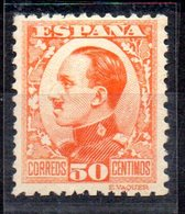Sello Nº 498  España - 1889-1931 Reino: Alfonso XIII