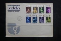 SEYCHELLES - Enveloppe FDC En 1975 - Année De La Femme - L 39754 - Seychellen (...-1976)