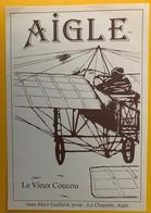 11451 - Aigle Le Vieux Coucou Suisse - Avions