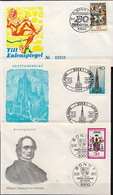 Germany 3 FDCs From 1977 - [7] Federal Republic