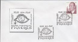 3430    Carta Figueres Dali 2002, Expo Filat - 1931-Aujourd'hui: II. République - ....Juan Carlos I