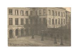 Institut St. Louis. - Bruxelles.  La Cour Des Internes (1929). - Onderwijs, Scholen En Universiteiten