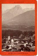 OBER-TARVIS/TARVISIO Von Nord, ( Früher Kärnten) Karte Alois BEER, K.u.K. Hof-Photograf Klagenfurt, (1840 - 1916) - Andere Städte