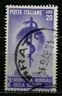 # 1949 Italia Repubblica: Sanità, Usato - 6. 1946-.. Repubblica