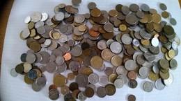 LOTTO:1,5 Kg DI MONETE MONDIALI IN BUONE CONDIZIONI - Münzen & Banknoten